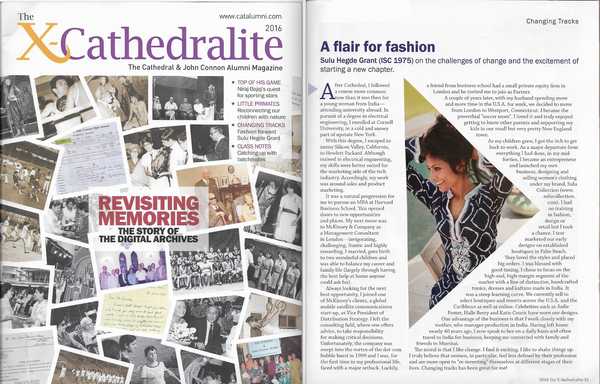 Sulu Grant: A Flair For Fashion in Cathedralite Magazine