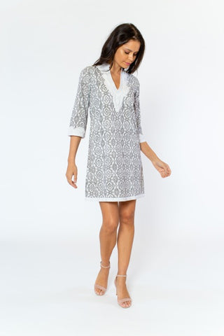 Penny Dress (cap & 3/4 sleeve)