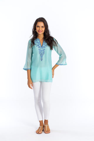 Athena Tunic (lined) (3/4 sleeve)
