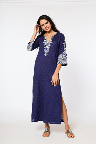 Alessandra Maxi Dress (lined & unlined) (3/4 sleeve)