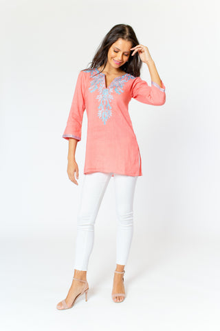 Catalina Linen Tunic