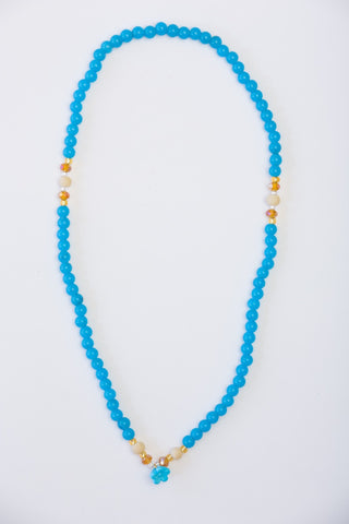 Flirty Gypsy Necklace/Bracelet - Malibu Blue