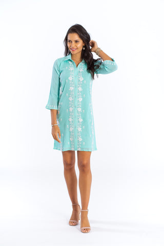 Amalfi Dress (lined) (3/4 sleeve)