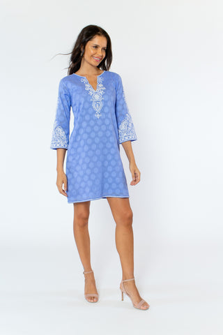 Alessandra Dress (lined) (3/4 sleeve)