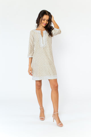 Crosby Dress (lined) (3/4 sleeve)