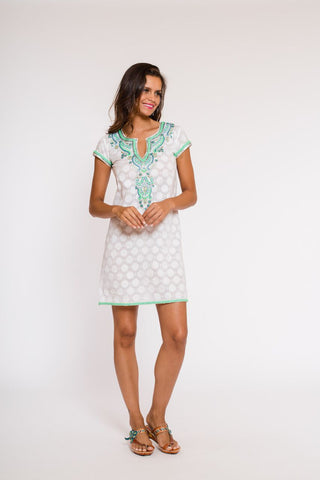 Positano Dress (cap sleeves)