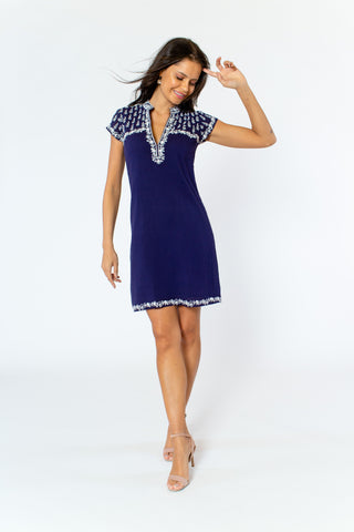 Angelika Dress (lined) (cap sleeve)