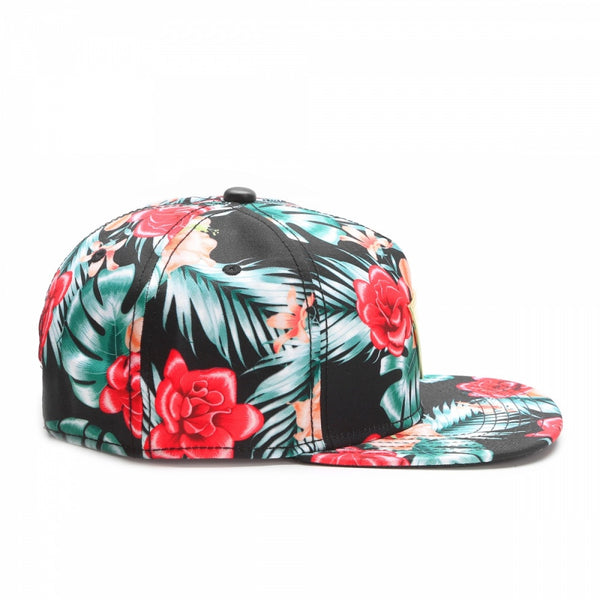 Snapback FLOWERS - Purple Drank Shop - 1
