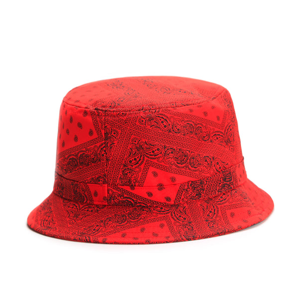 Bucket hat PAIZ Rojo - Purple Drank Shop - 1