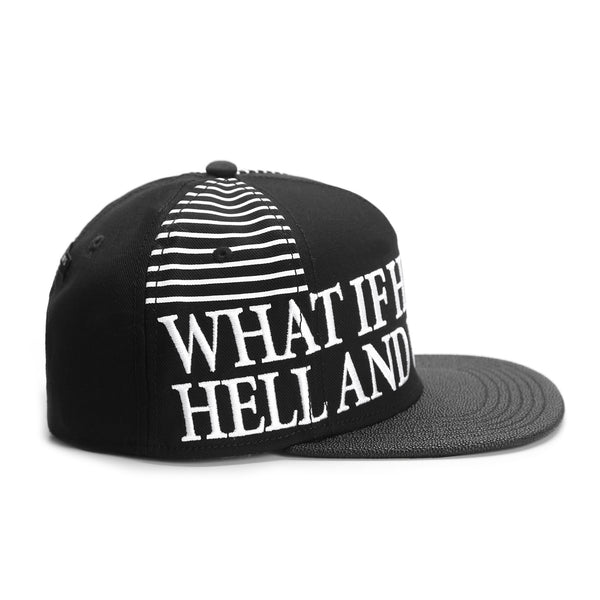 Snapback WHAT IF - Purple Drank Shop - 1