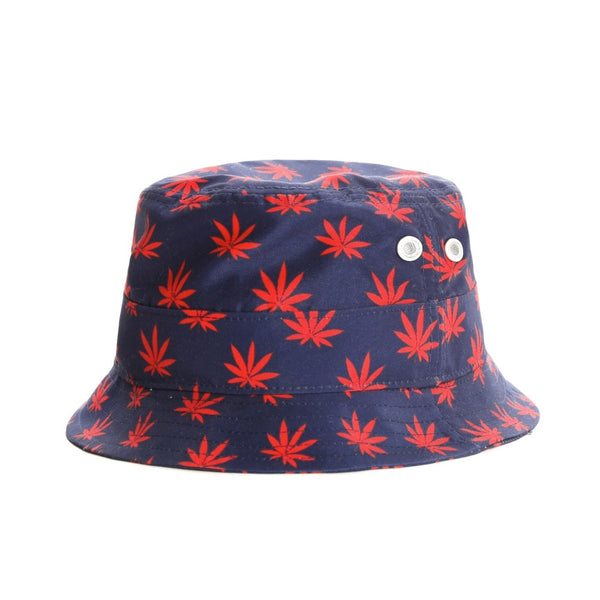 Bucket hat BUDZ N STRIPES (Azul) - Purple Drank Shop - 1