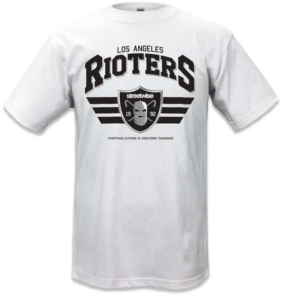 Camiseta RIOTERS 2.0 Blanca - Purple Drank Shop