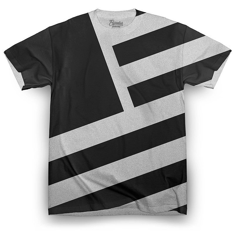 Camiseta TAKEOVER SQUARE FLAG (Gris) - Purple Drank Shop