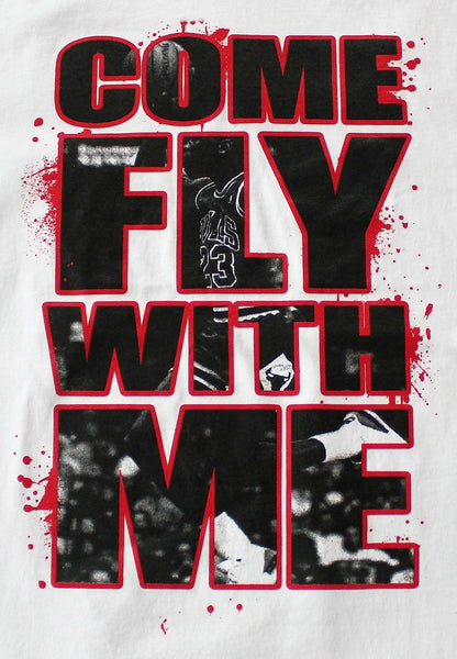 Camiseta COME FLY WITH ME (Blanco) - Purple Drank Shop - 1