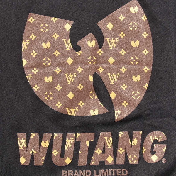 Crewneck WU-MONOGRAM (Negro) - Purple Drank Shop - 1