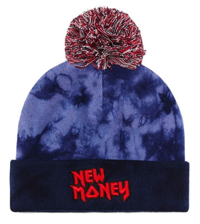 Beanie NEW MONEY Pom Pom - Purple Drank Shop - 1