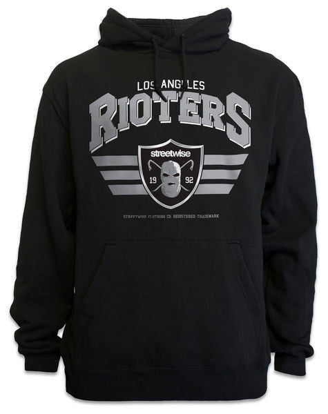 Hoodie RIOTERS 2.0 Negro - Purple Drank Shop