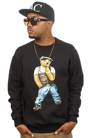 Crewneck PAC BEAR - Purple Drank Shop - 1