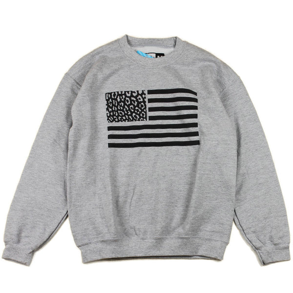 Crewneck CHEETAH FLAG (Gris) - Purple Drank Shop