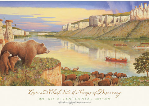 Lewis and Clark and the Corps of Discovery - Note card