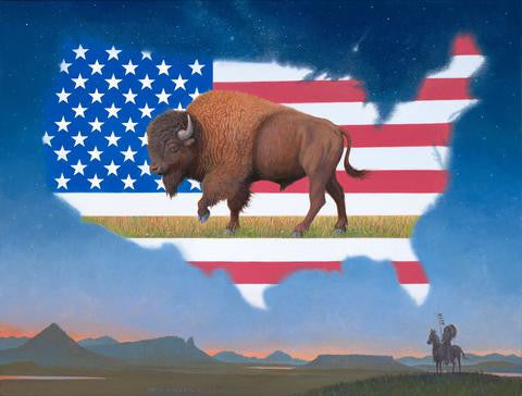The Return (of the American Bison) Print