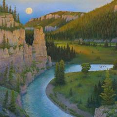 Smith River in June-Limited Edition Print
