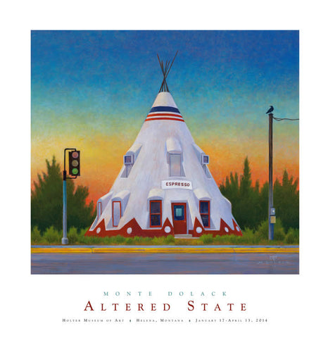 Altered State - Holter Museum of Art Poster - Signed