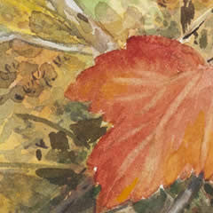 Autumn Leaves- Mary Beth Percival