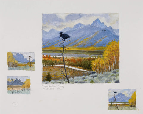 Teton Autumn Studies