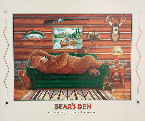 Bear's Den - Foiled Edition