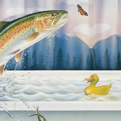 Big Fish Small Pond - Signed