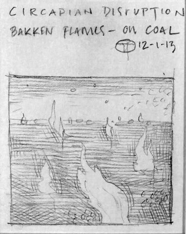 Circadian Disruption- Bakken Flames Study
