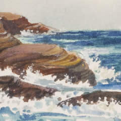 Cliffs Near Sandy Beach - Number Two