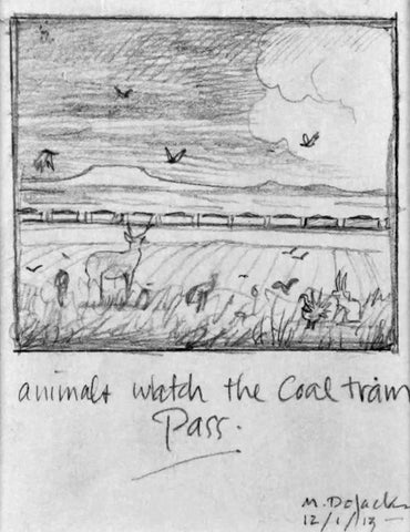 Animals Watch the Coal Train Pass- Study