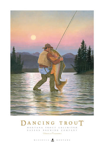 Dancing Trout - signed