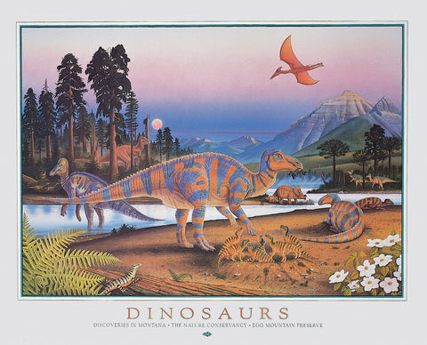 Dinosaurs - Discoveries in Montana, The Nature Conservancy, Egg Mountain Preserve