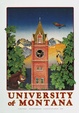 University of Montana Note Card
