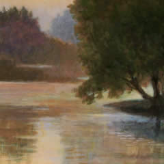 Dordogne River at Dawn