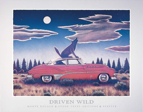 Driven Wild - Poster