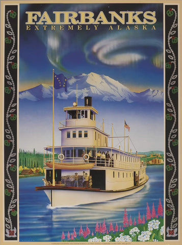Fairbanks Alaska - Signed