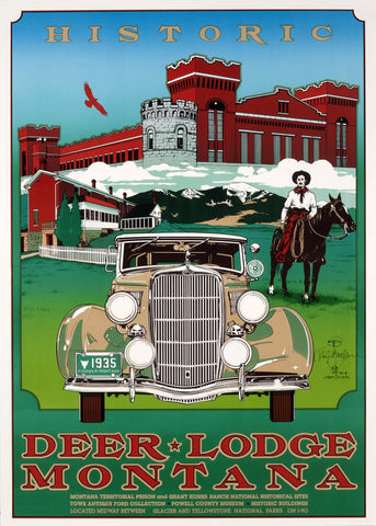Historic Deer Lodge-signed