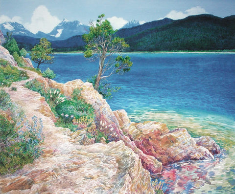 Lake McDonald in Summer