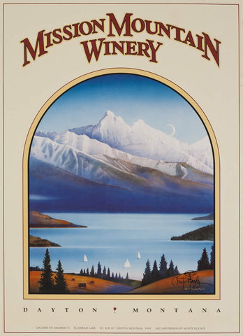 Mission Mountain Winery II - Lake - Large Unsigned