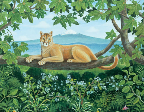 Mountain Lion - Note card