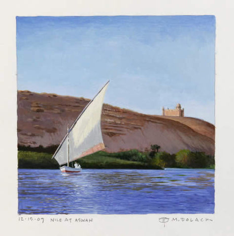 Nile on the Aswan