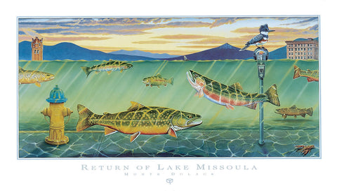 Return of Lake Missoula - Signed