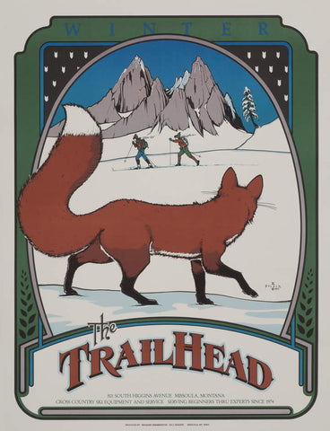 The Trailhead - signed