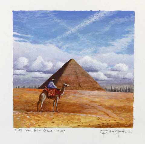 View From Giza- Study