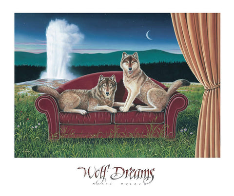 Wolf Dreams - Signed