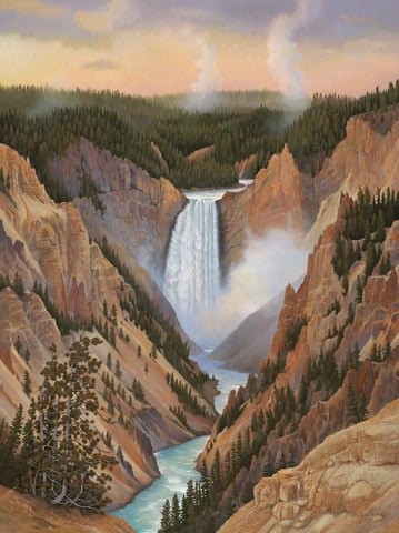 Yellowstone Falls Print-Small